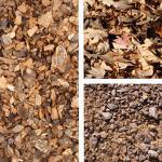 חיפוי קרקע - סוגי שבבי עץ