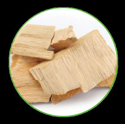 שבבי עץ - ירוק בתנועה